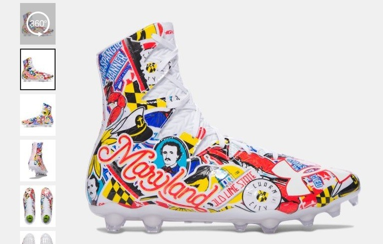 Under Armour S New Football Cleats Are Peak Maryland Baltimore Sun