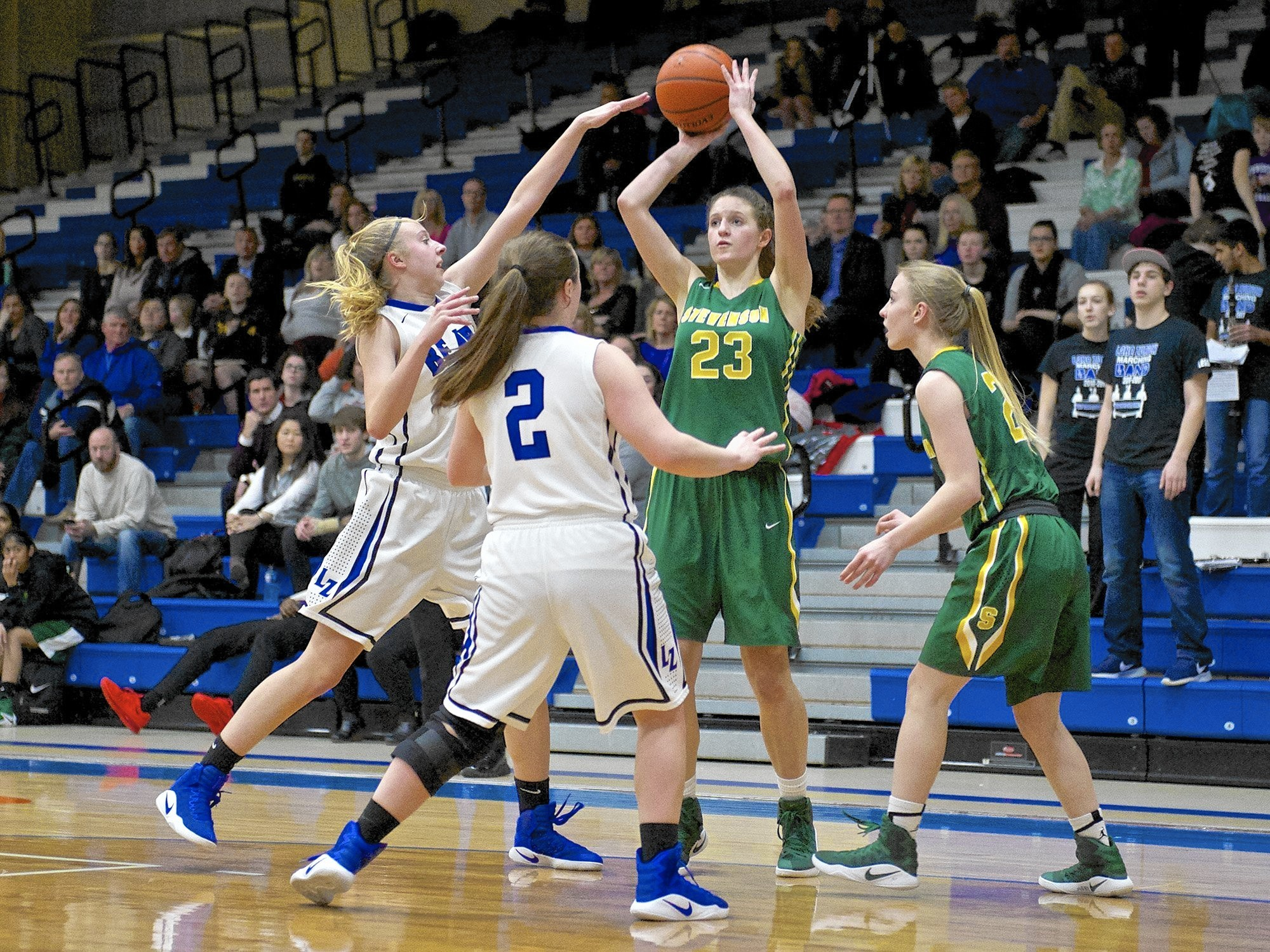 Stevenson Turns To Isabella Paldrmic Julia Osuch For