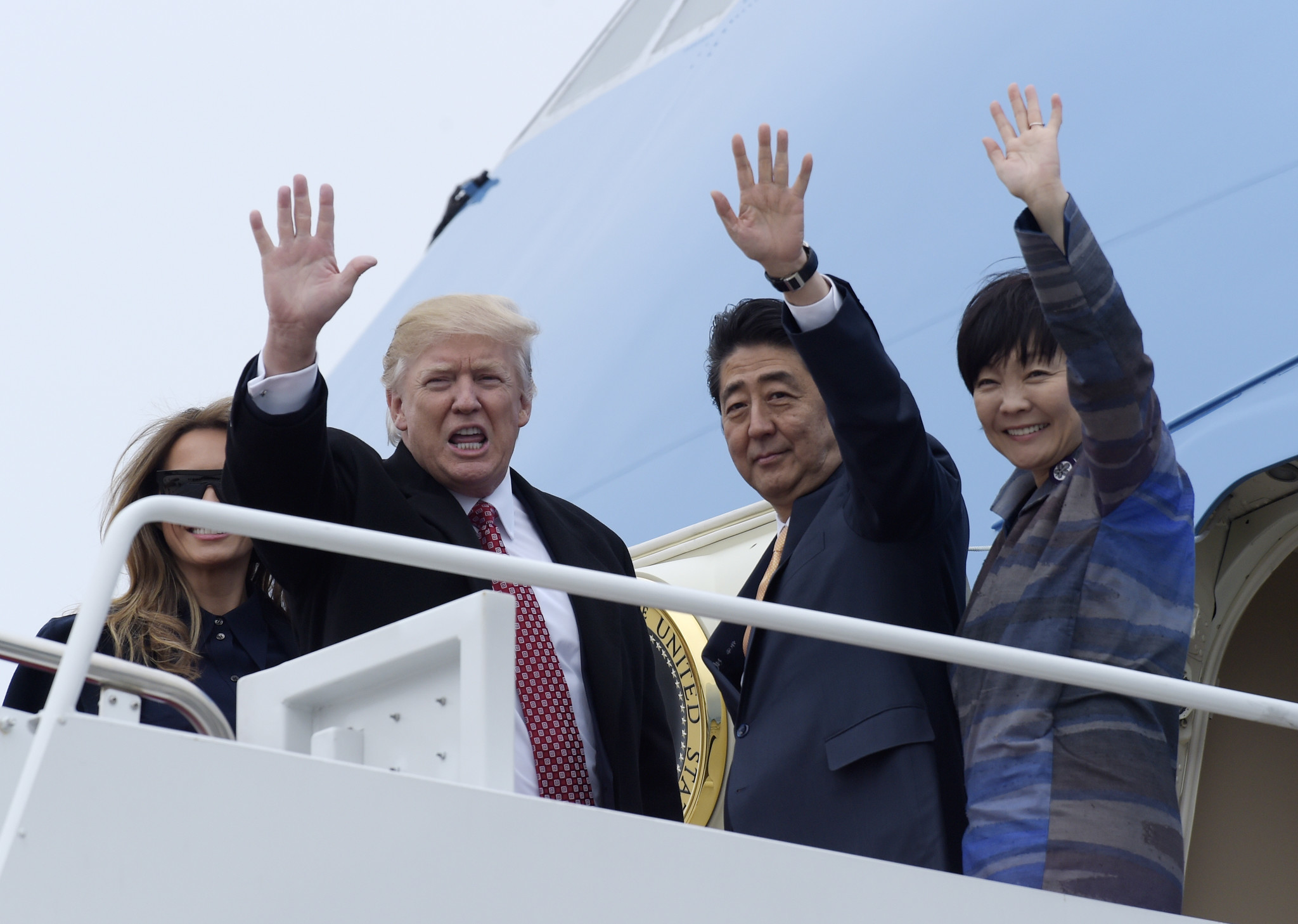 Image result for Trump to Travel to Japan China