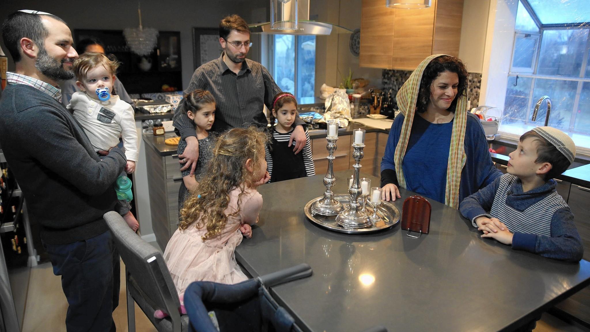 Muslim, Jewish familie...