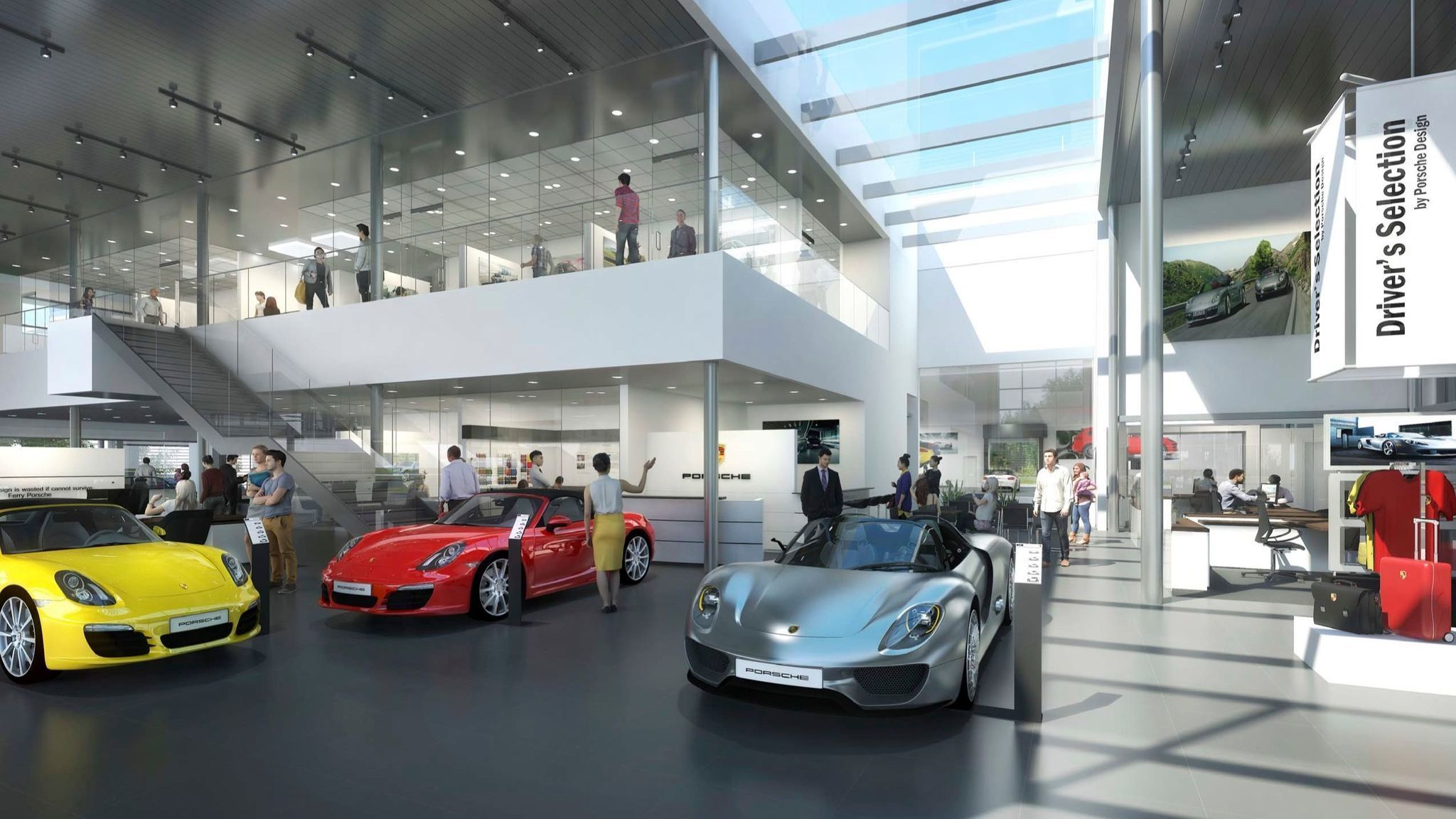 millenia clinches luxury car hub with ferrari porsche lexus