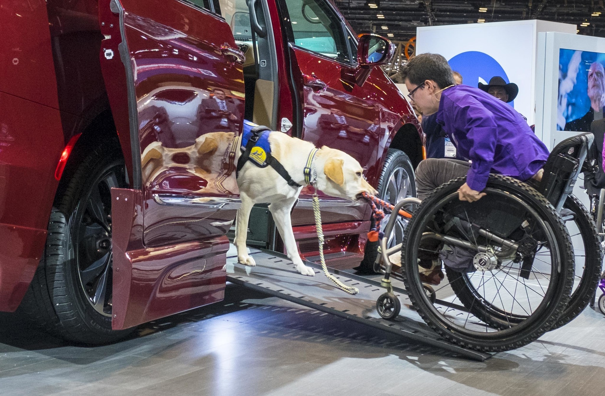 Chrysler Pacifica Opens Doors To Wheelchair Users