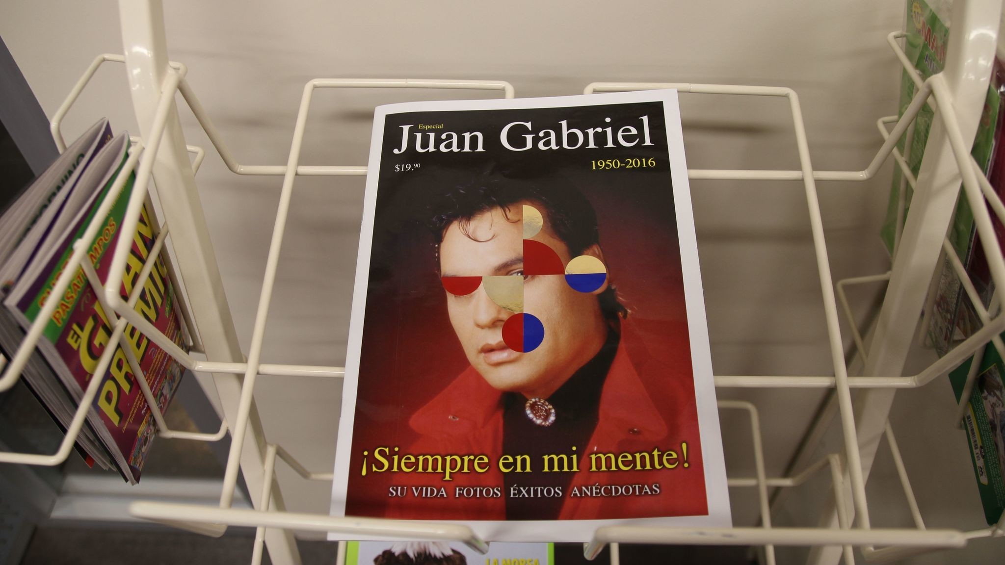 A magazine about the late singer Juan Gabriel features interventions by Gabriel Orozco.