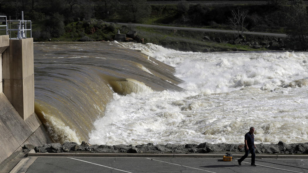Updates: New storms approach, but officials confident Oroville Dam