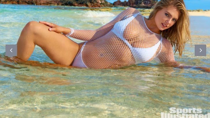 5835e2ea0498c Kate Upton is Sports Illustrated Swimsuit 2017 cover model for third time -  Orlando Sentinel