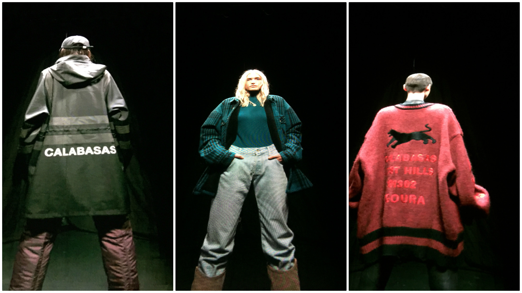 79d5d97e3 Kanye West debuts a drama-free and SoCal-centric Yeezy Season 5 ...