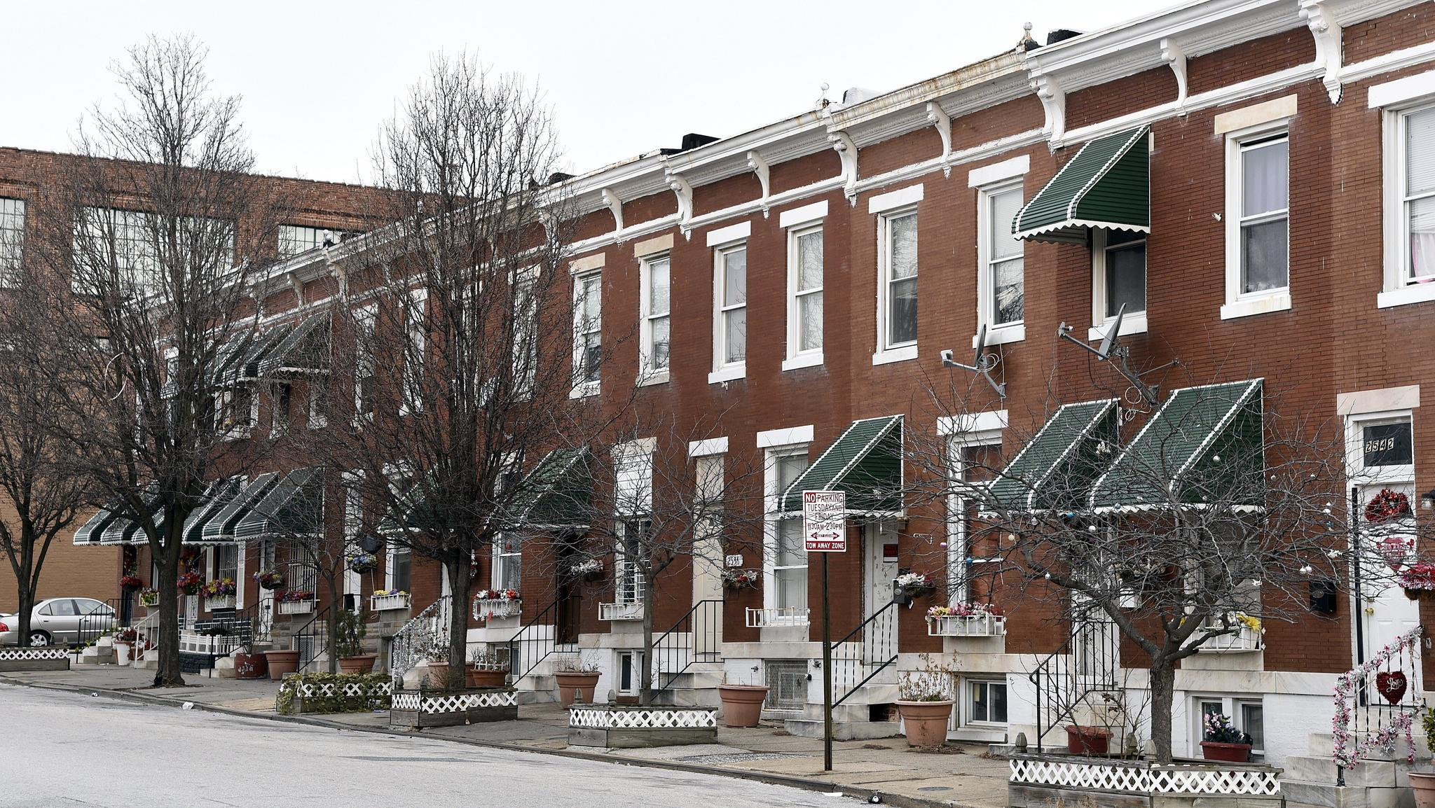 moving up city neighborhoods on the rise baltimore sun