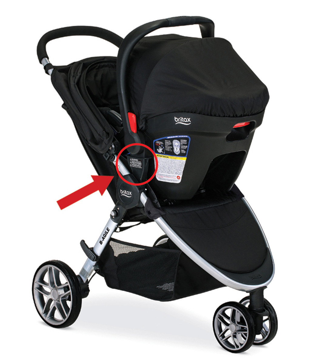 Click Go System For Strollers Sold At Target Babies R Us Recalled Could Disengage