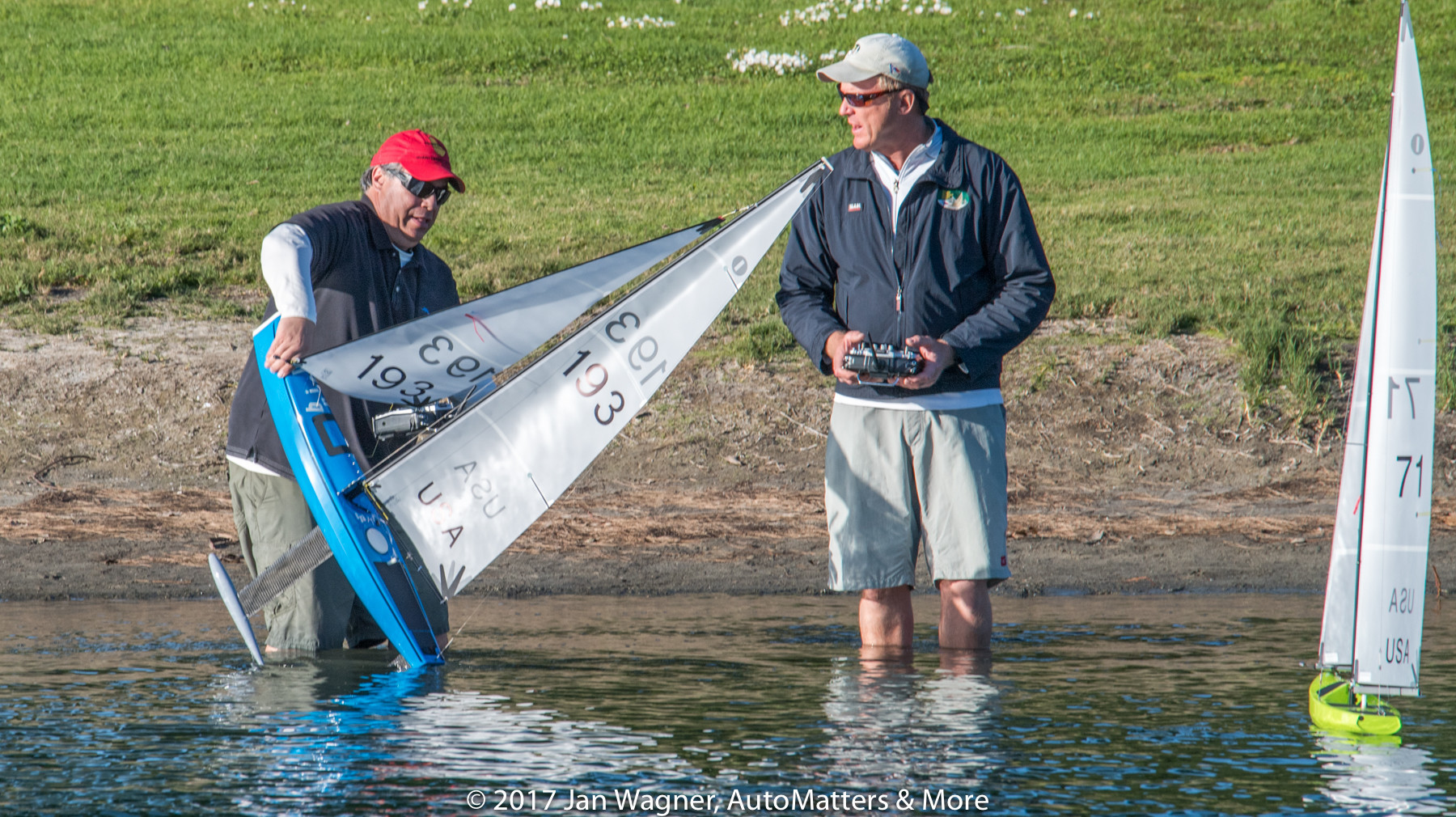 AutoMatters & More: IOM R/C Sailboat Racing