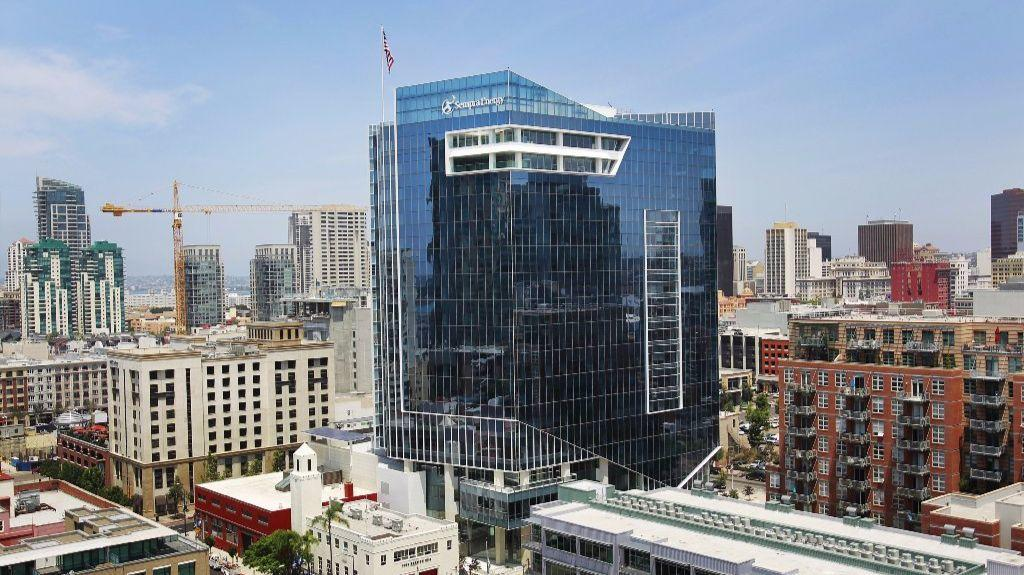 Sempra Energy's $165 million headquarters at 8th Ave. and Island Ave.