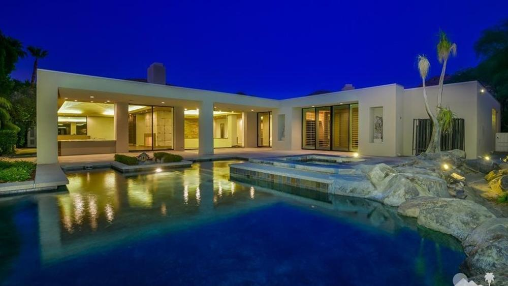 Crisp's home in Rancho Mirage Estate