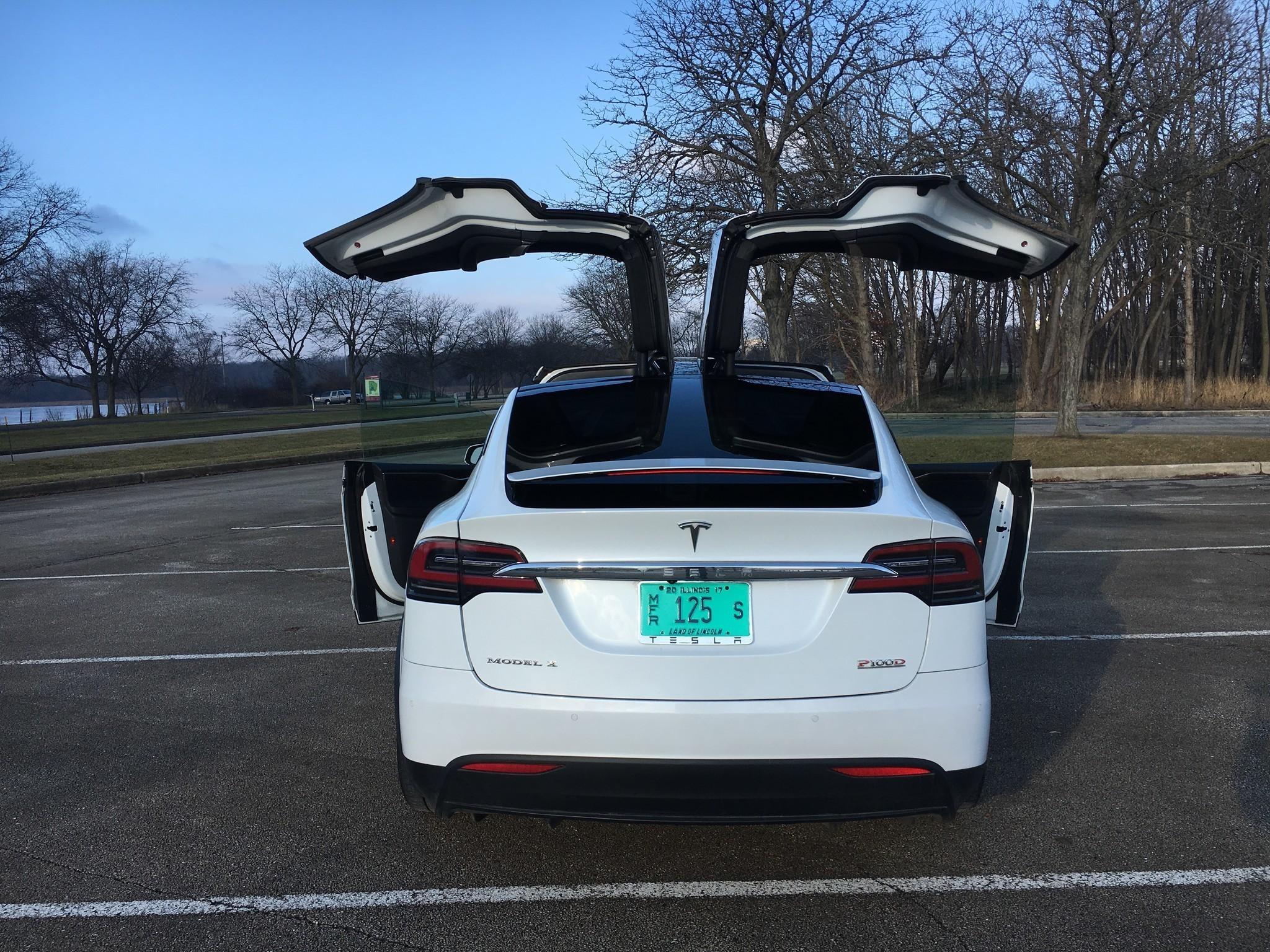 2017 Tesla Model X P100d Chicago Tribune