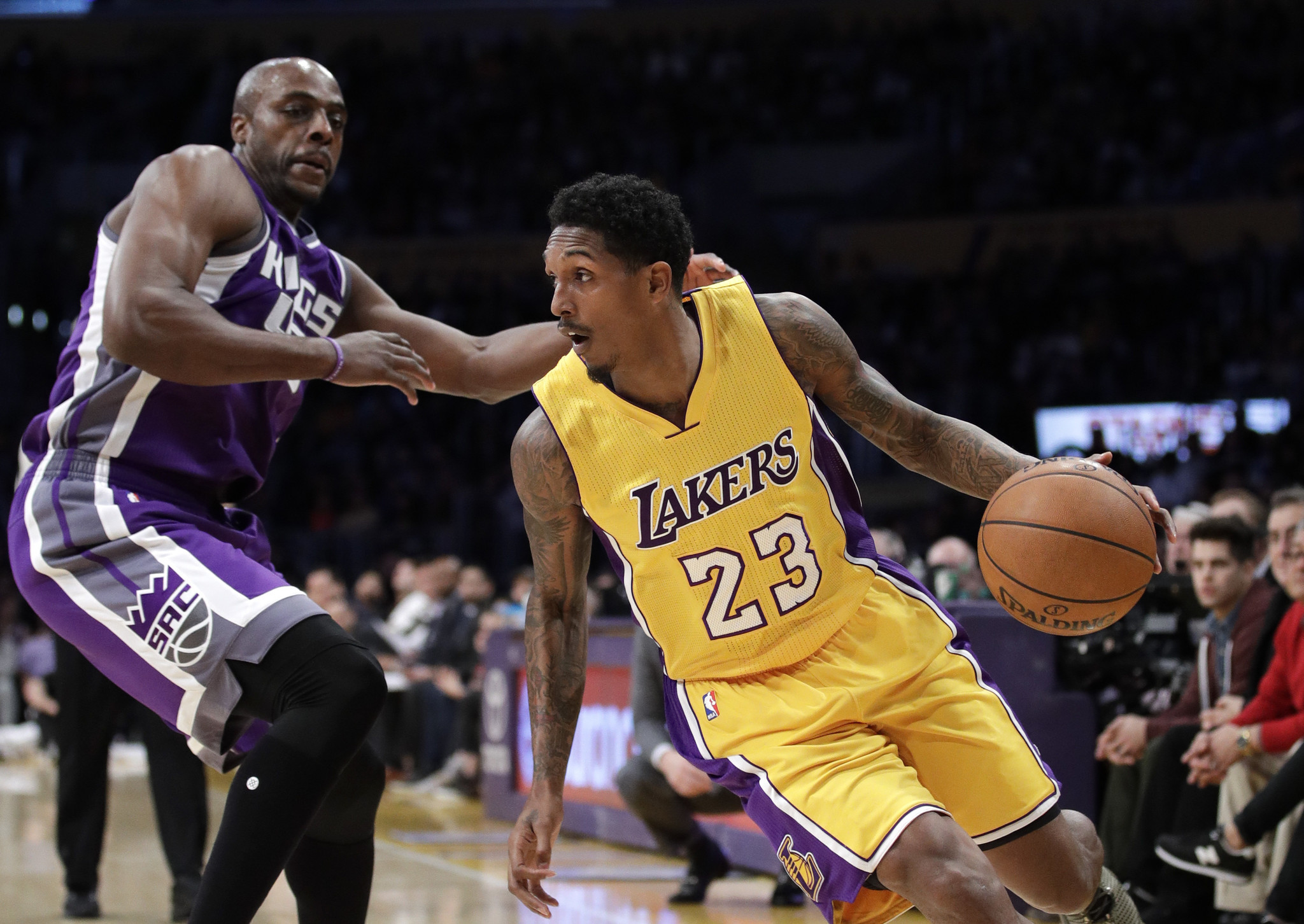Lakers trade Lou Williams to Houston for Corey Brewer ...