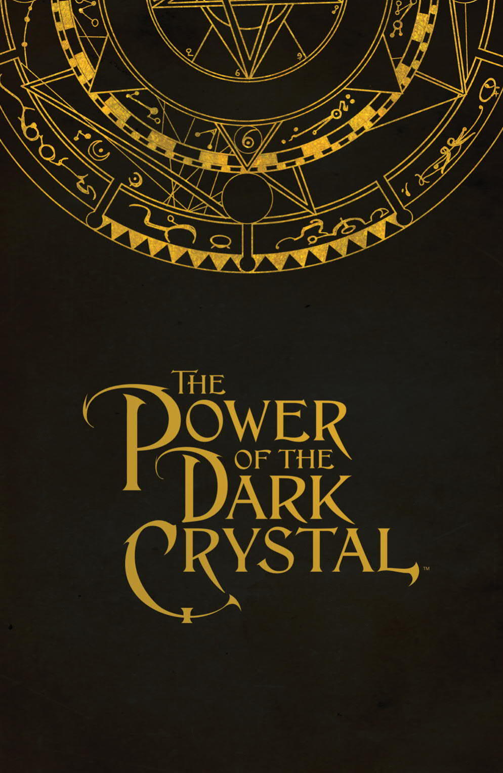 """A page from """"The Power of the Dark Crystal"""" No. 1."""