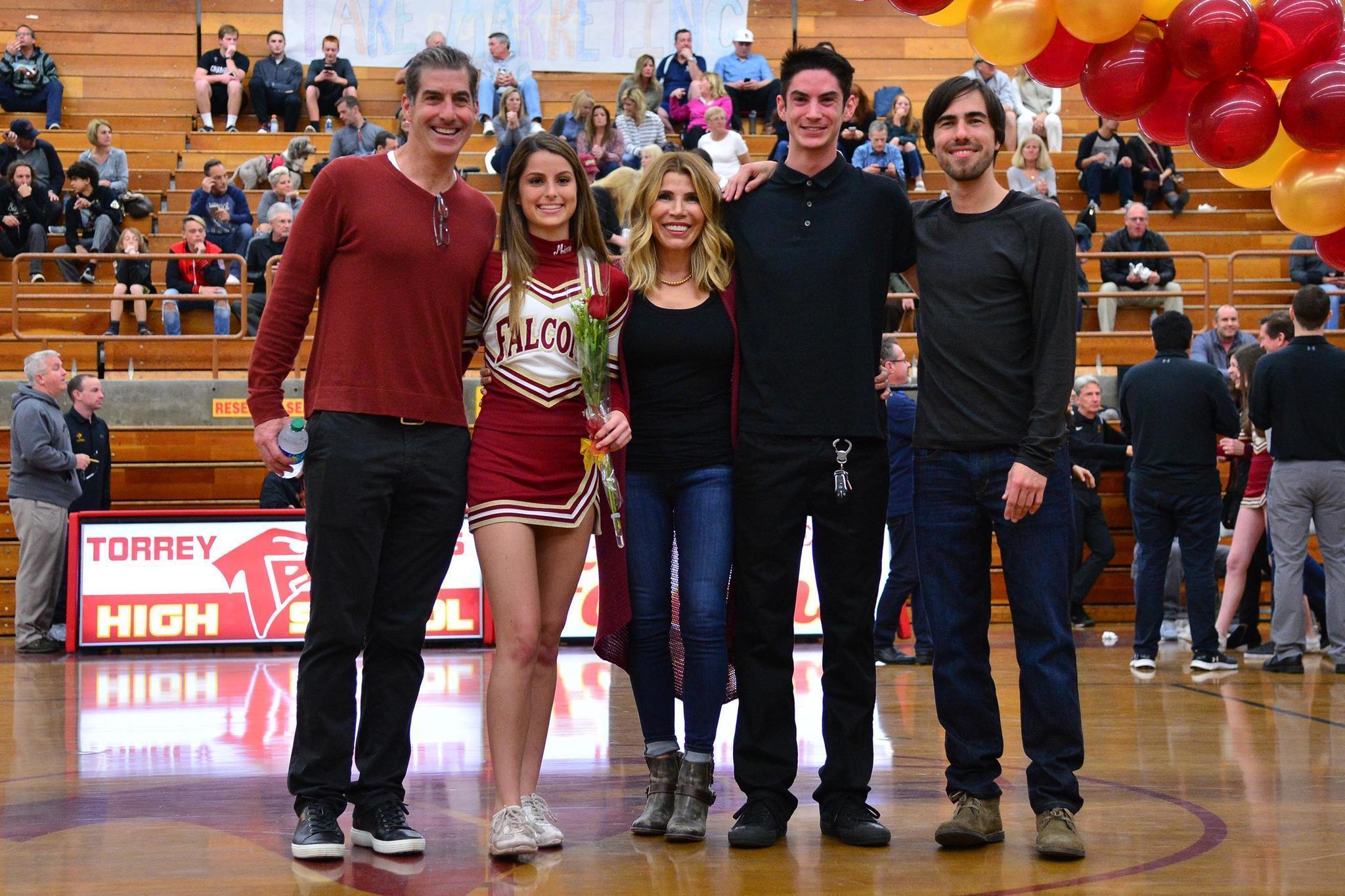 Torrey Pines High School celebrates hoops, cheer seniors ...
