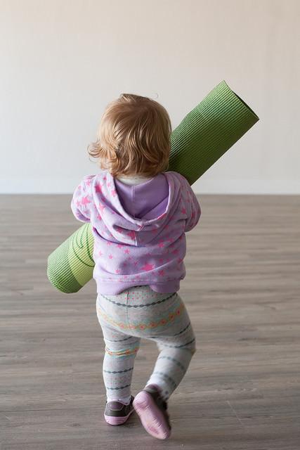 A young Seed & Song yogi.