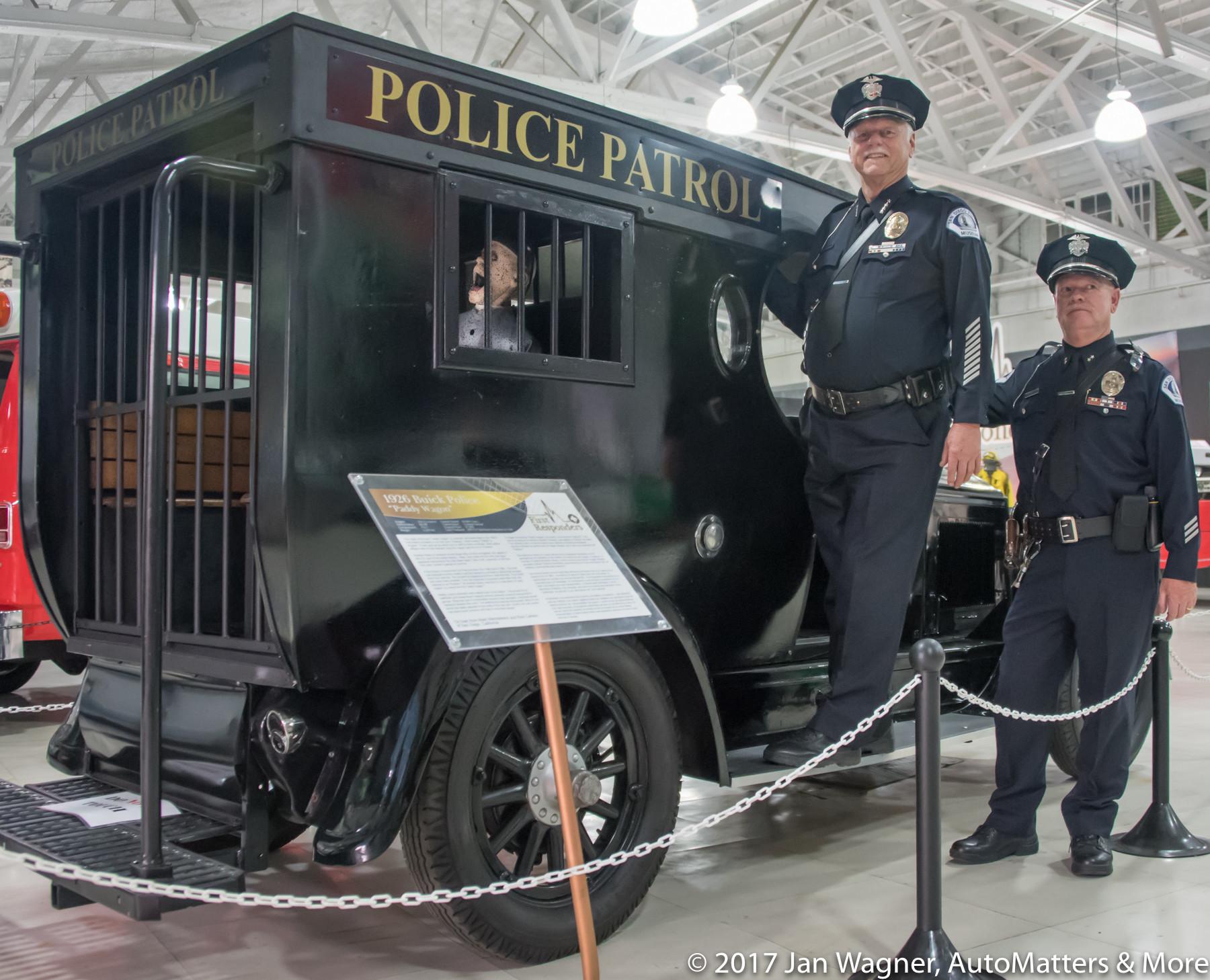 "1926 Buick Police ""Paddy Wagon"""