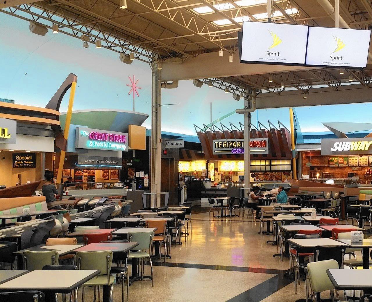 Gurnee Mills Food Court