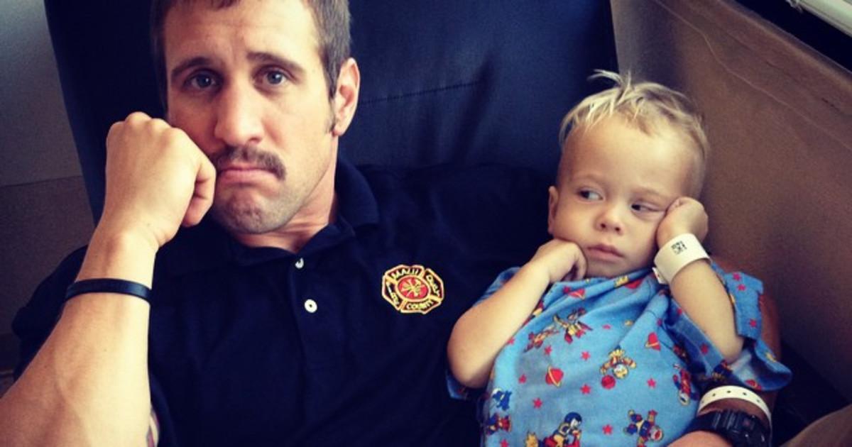 manny machado, wife show support for 3-year-old hawaii boy