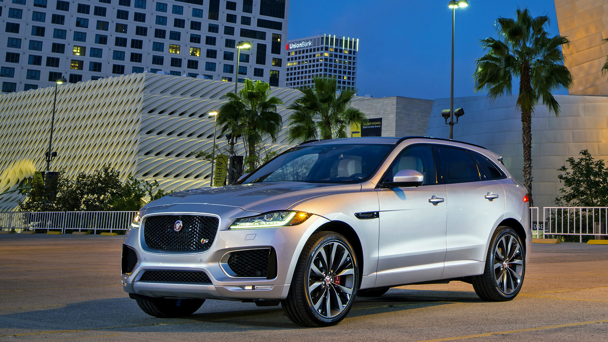 2017 jaguar f pace s la times. Black Bedroom Furniture Sets. Home Design Ideas