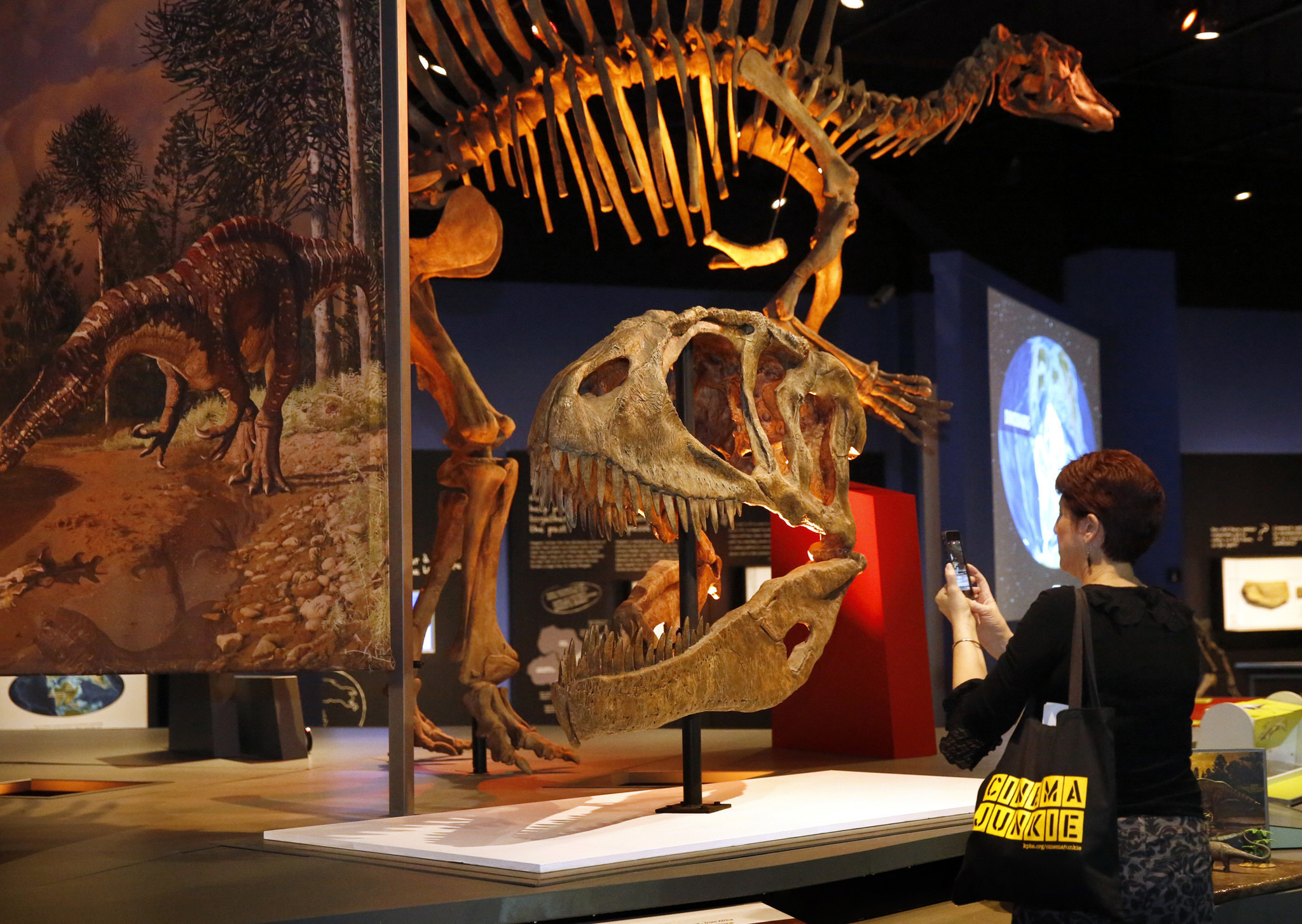 Ultimate Dinosaurs Exhibit Invades The San Diego Natural History