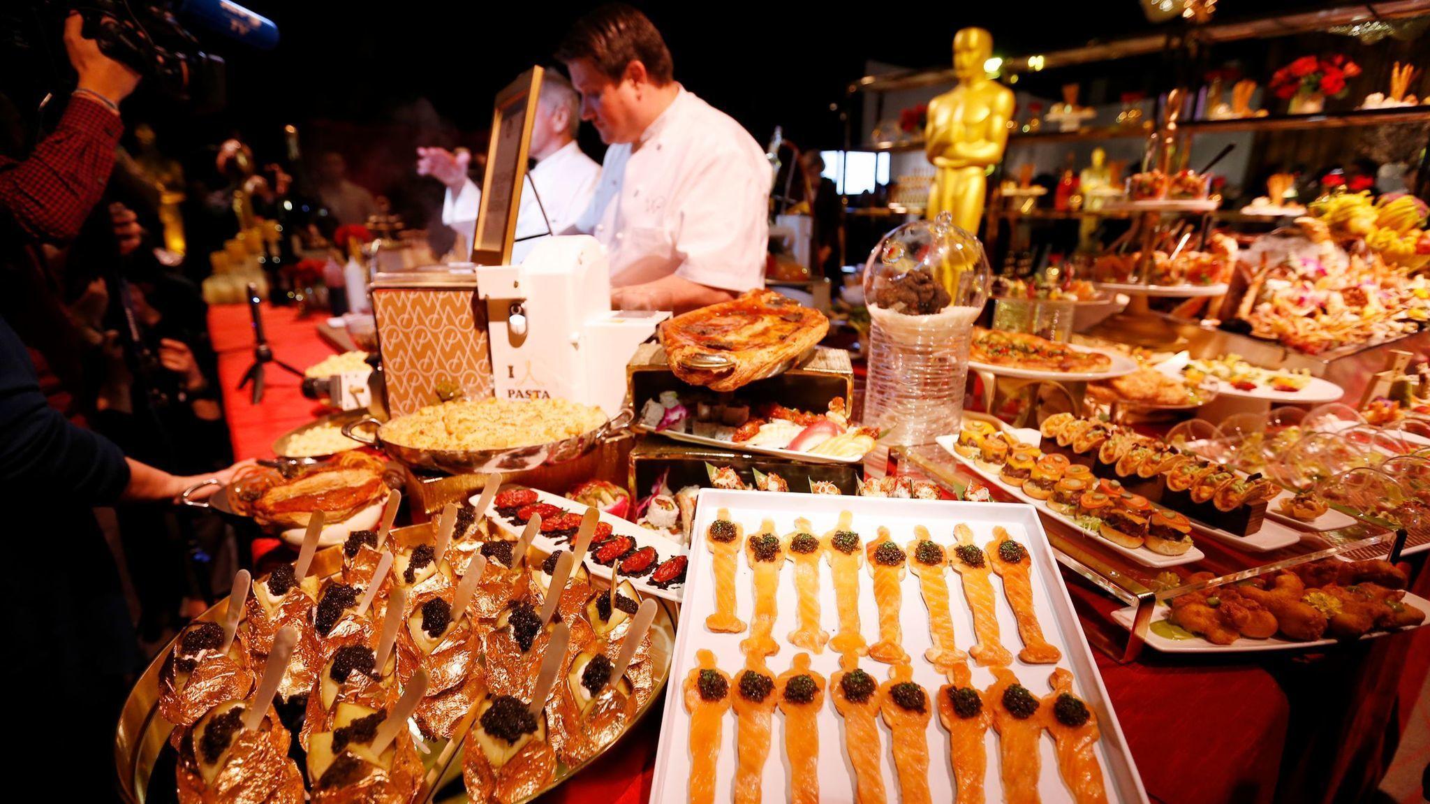Oscar  Food Wolfgang Puck
