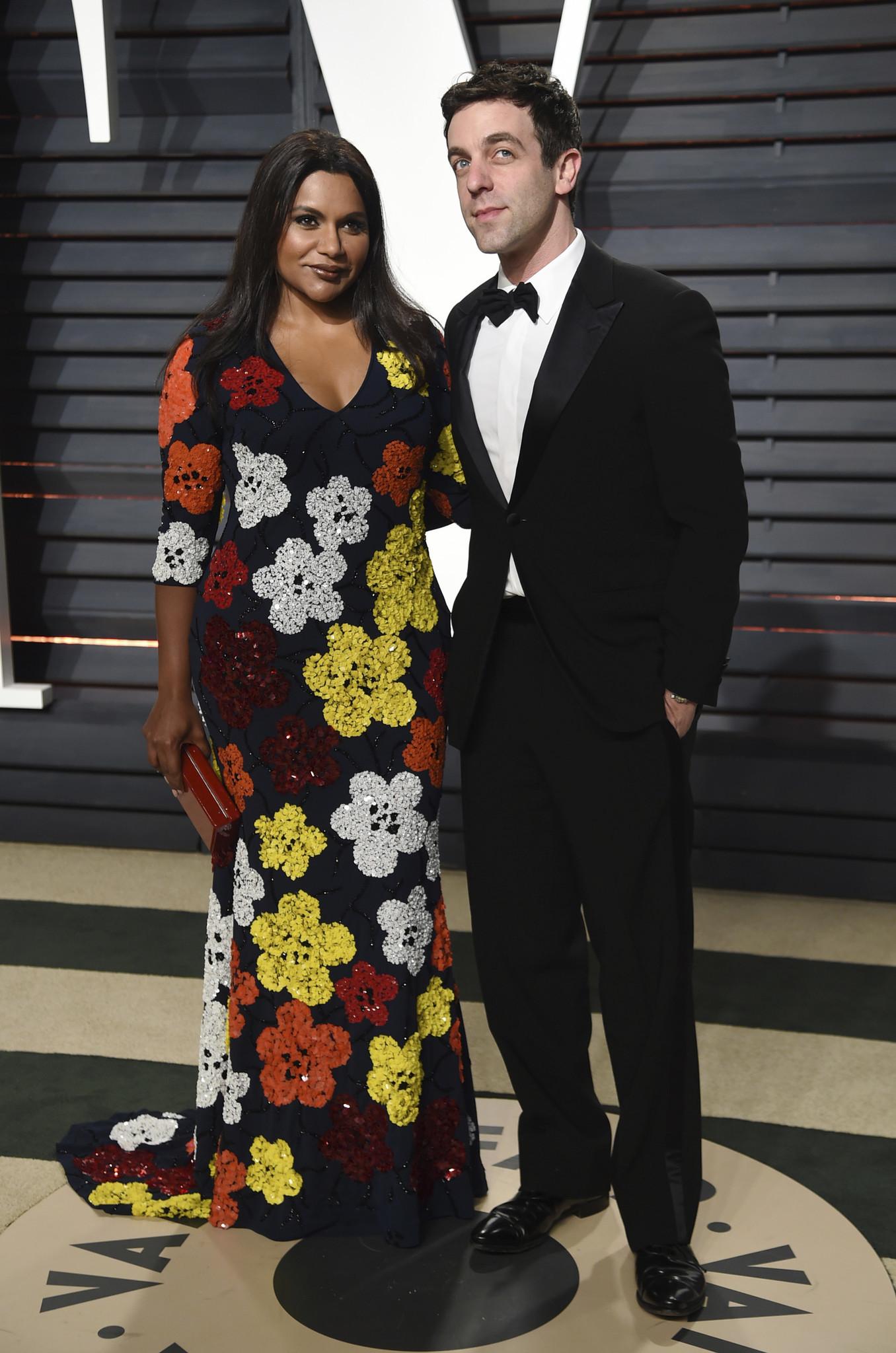 Mindy Kaling and B.J. Novak.