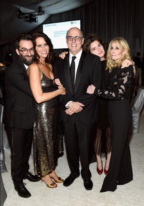 Jay Duplass, from left, Amy Landecker, Jeffrey Tambor, Gaby Hoffmann and Judith Light.