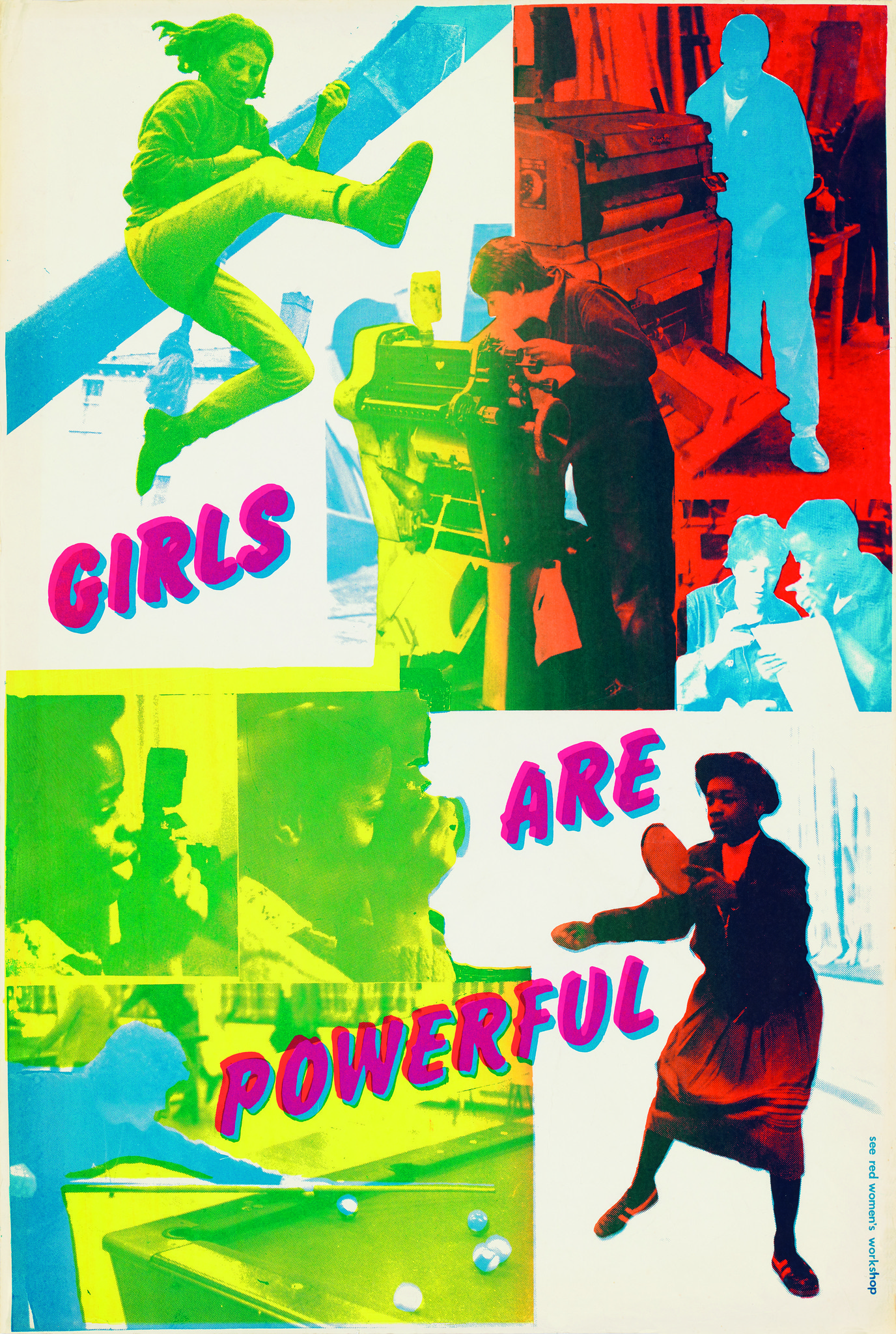 """Girls Are Powerful,"" 1979."