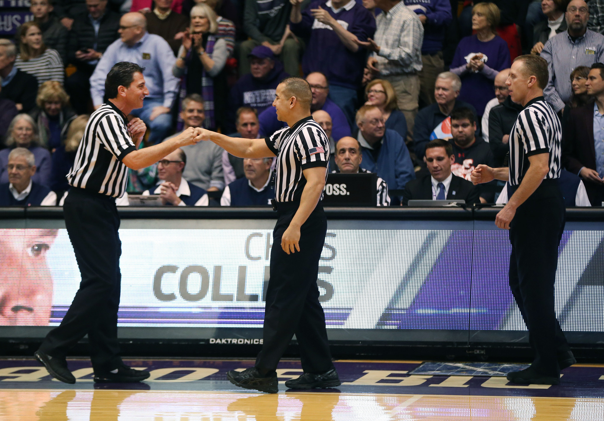 Two days embedded with a Big Ten officiating crew  These guys love their  job - Chicago Tribune d1f00e10b
