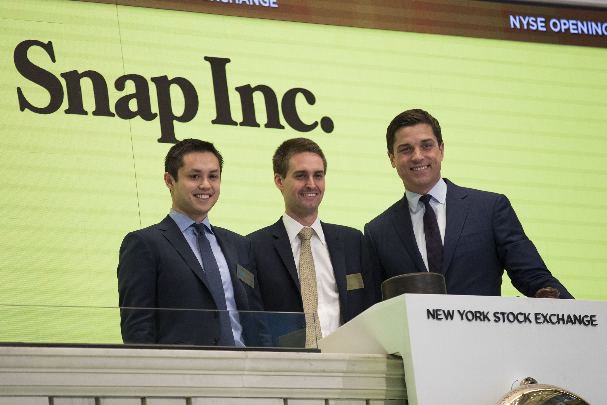 When was the snapchat ipo