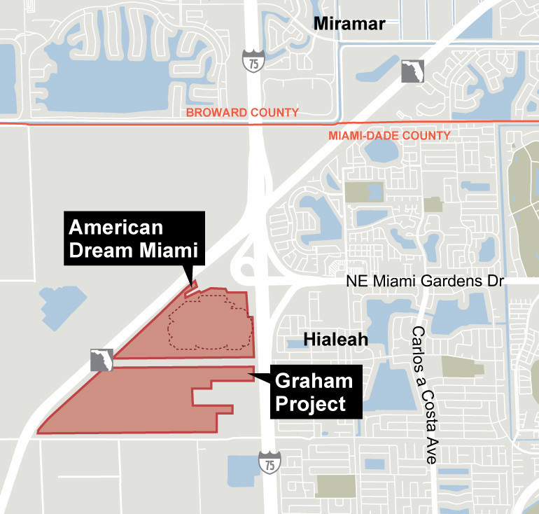 Hialeah Florida Map.American Dream Mother Of All Projects To Bring Thousands To