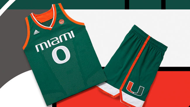 premium selection 741b4 720eb Miami Hurricanes' hoops teams to sport new uniforms this ...