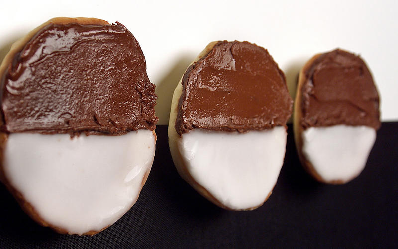 Zabar's black-and-white cookies