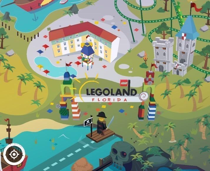 Legoland Map Florida.Legoland Florida New App Entertains During Drive To Theme Park