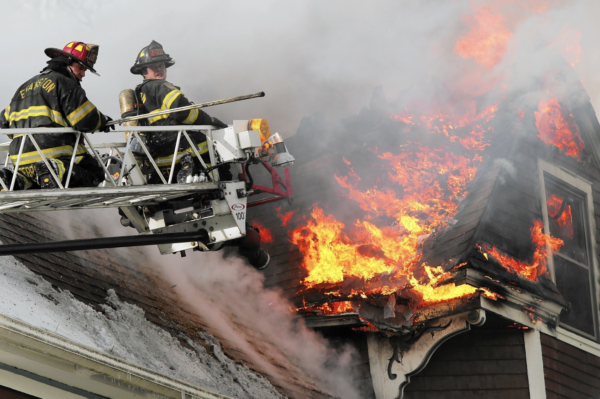 Number Of Evanston Fire Department Calls For Service