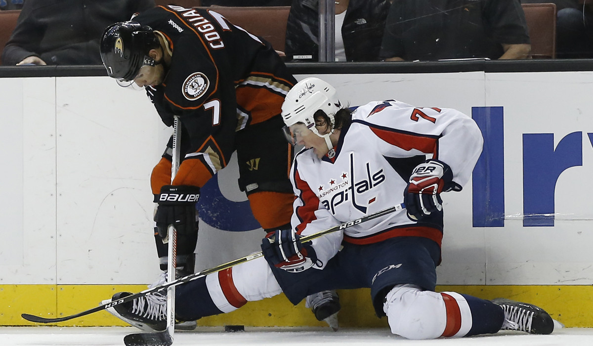 7d94252c5 charlotteobserver.com Ducks take advantage of slumping Capitals in 5-2 rout