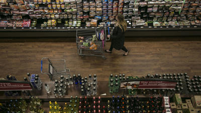 Malls look to grocery stores as a 'survival tactic'