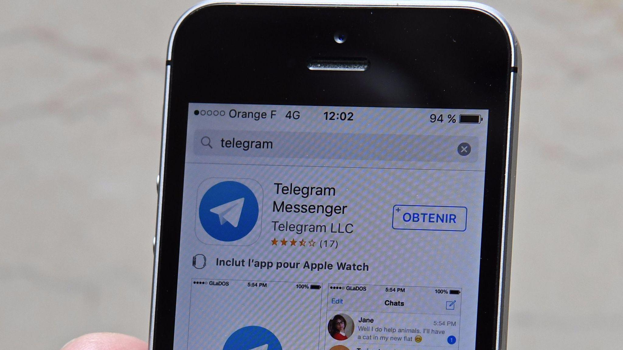 Rating: telegram channels iran