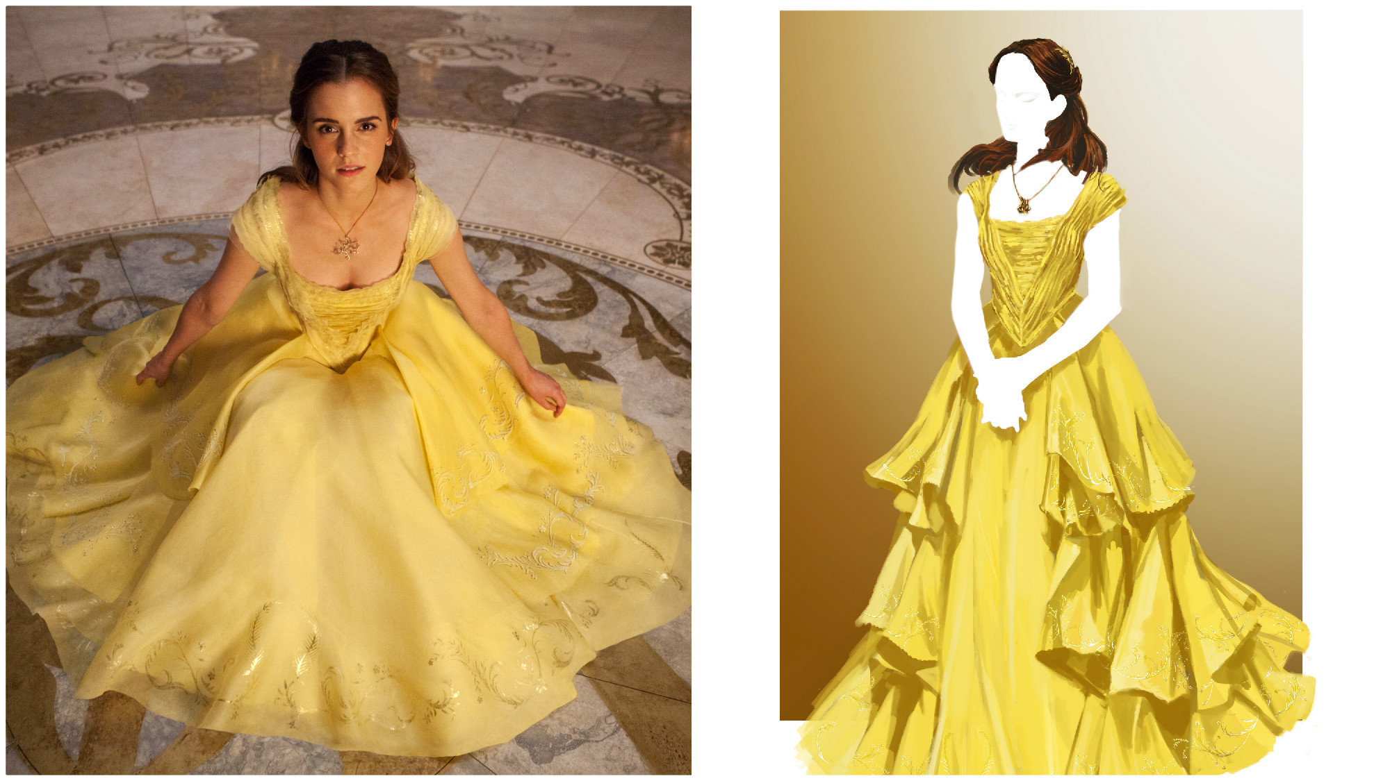 What went into creating 'Beauty and the Beast' costumes to ...