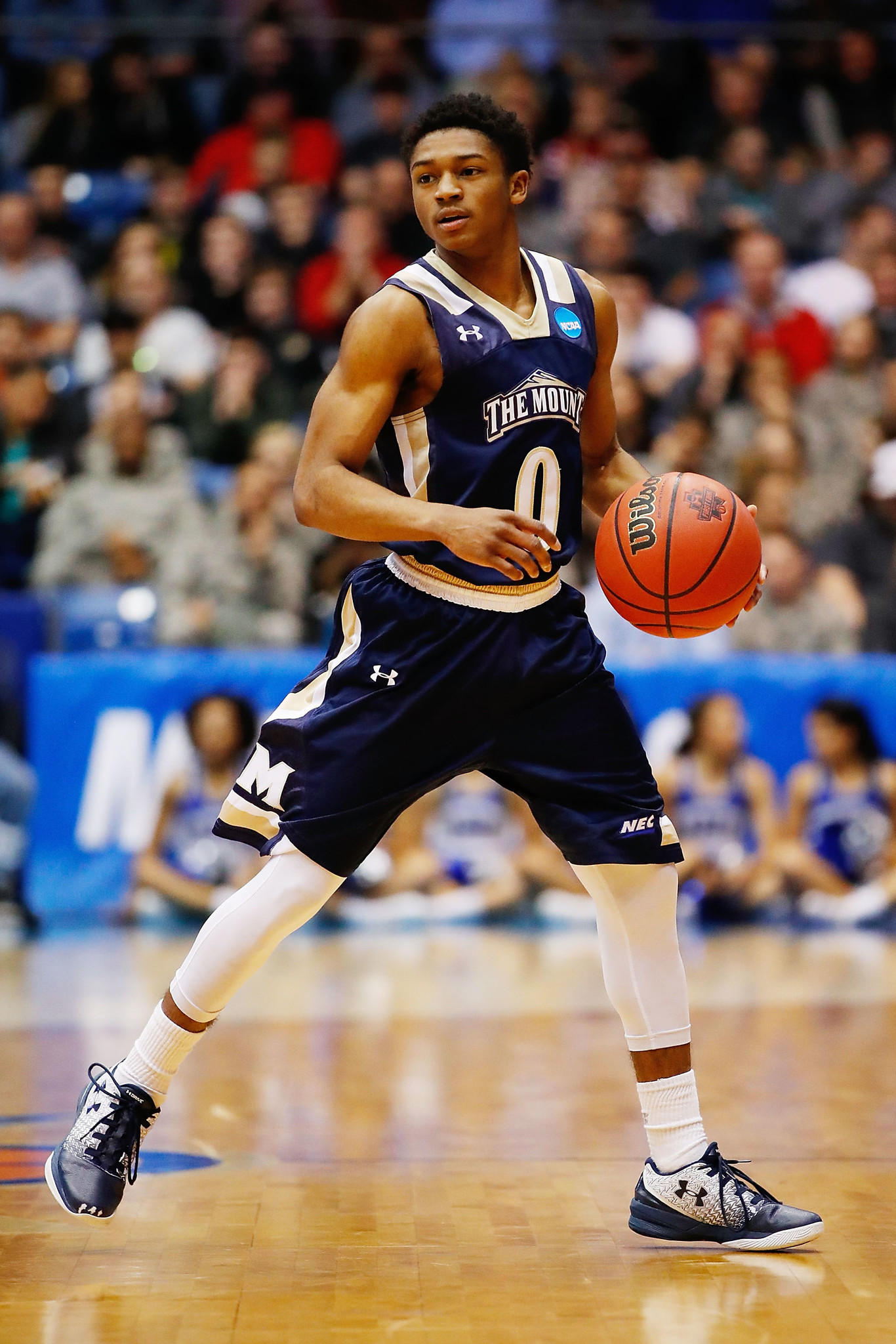 Mount St. Mary's Junior Robinson is the NCAA tournament's ...