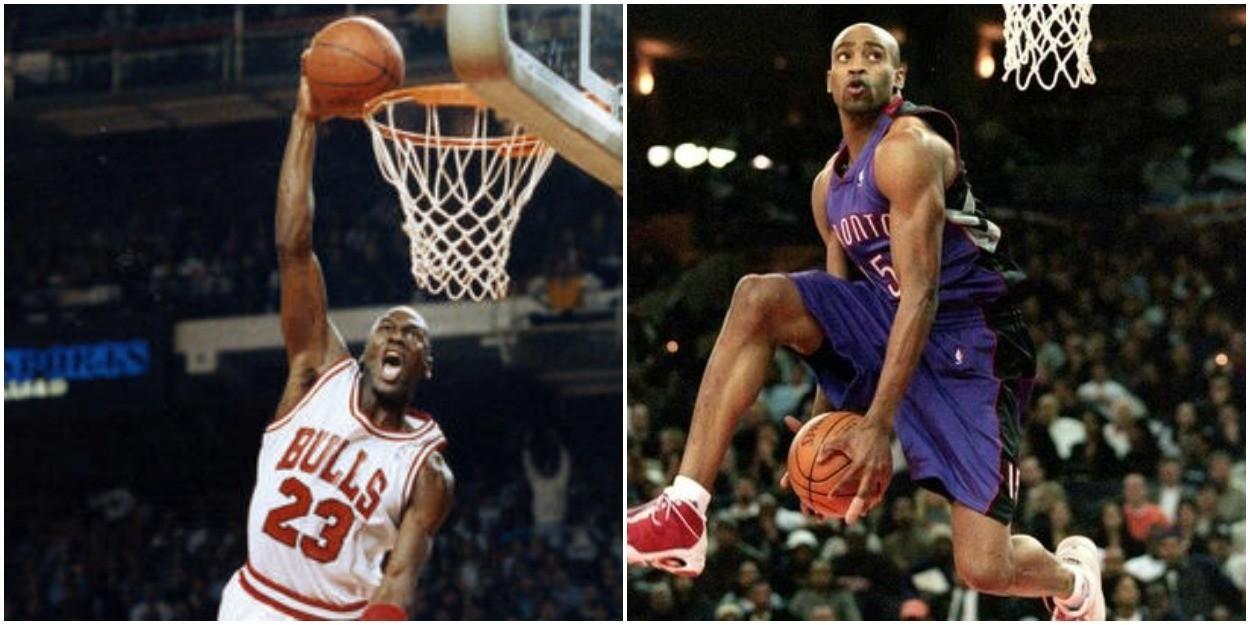 Now It S Vince Carter Challenging Michael Jordan S Supremacy On