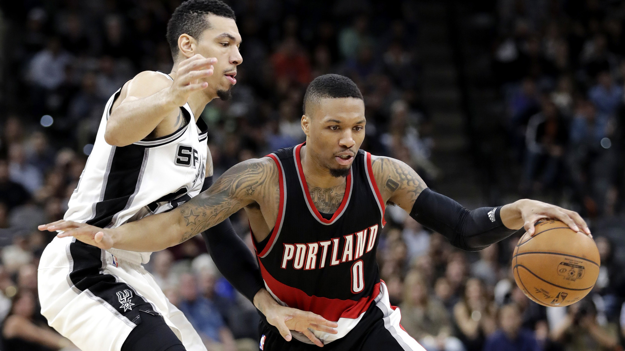 Damian Lillard scored 36 points and the Portland Trail Blazers defeated the  San Antonio Spurs  1add36e39