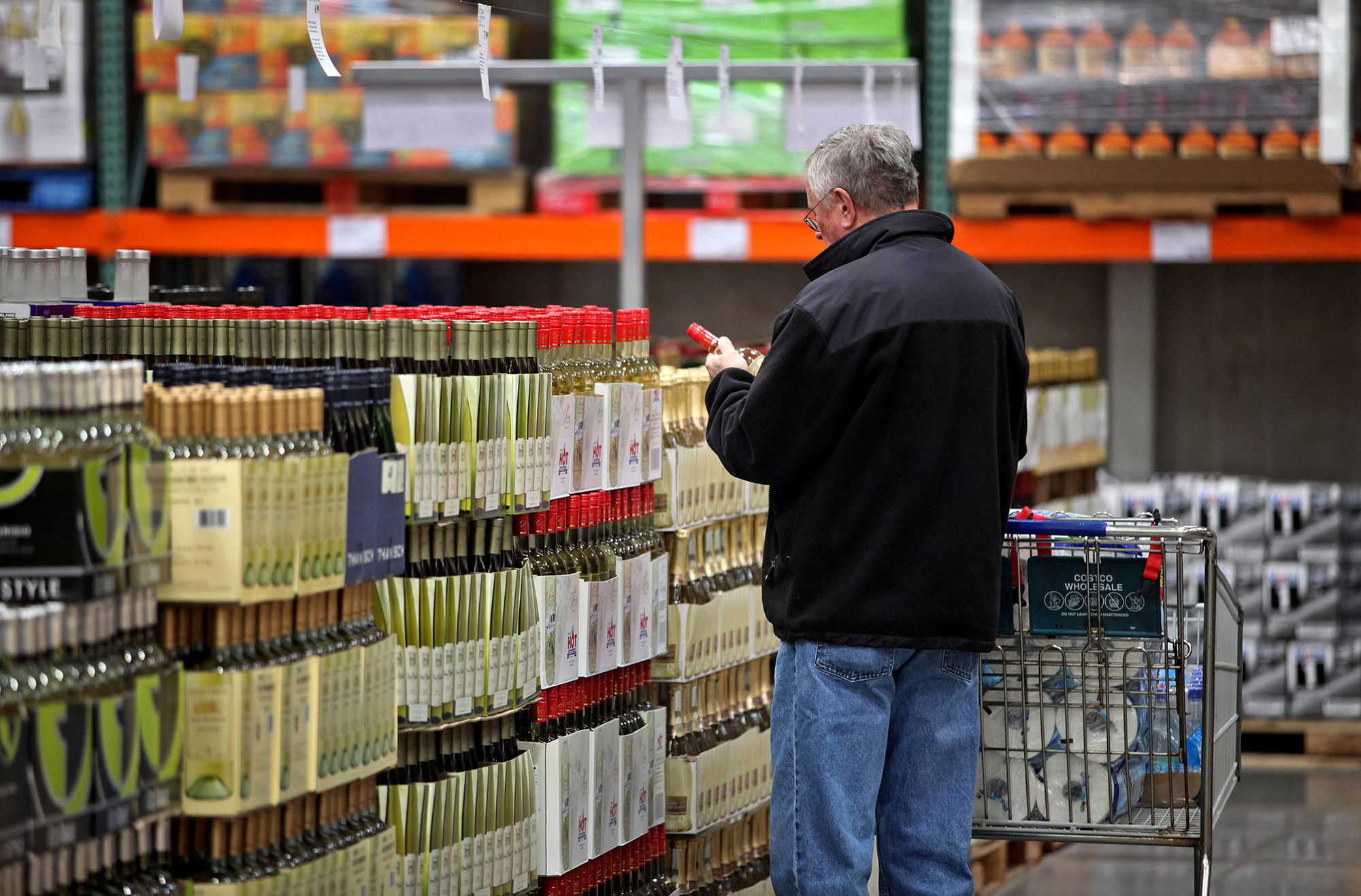 Costco Mount Prospect >> Costco's private-label booze helps warm spirits during dry ...