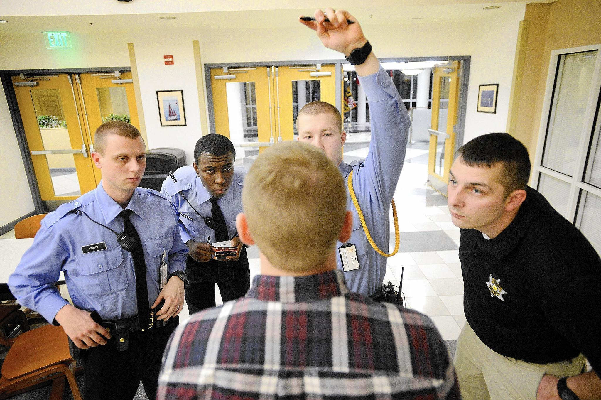 286861ea8 Drinking for the job: Recruits learn to perform field sobriety tests with  help from colleagues and others who volunteer to imbibe