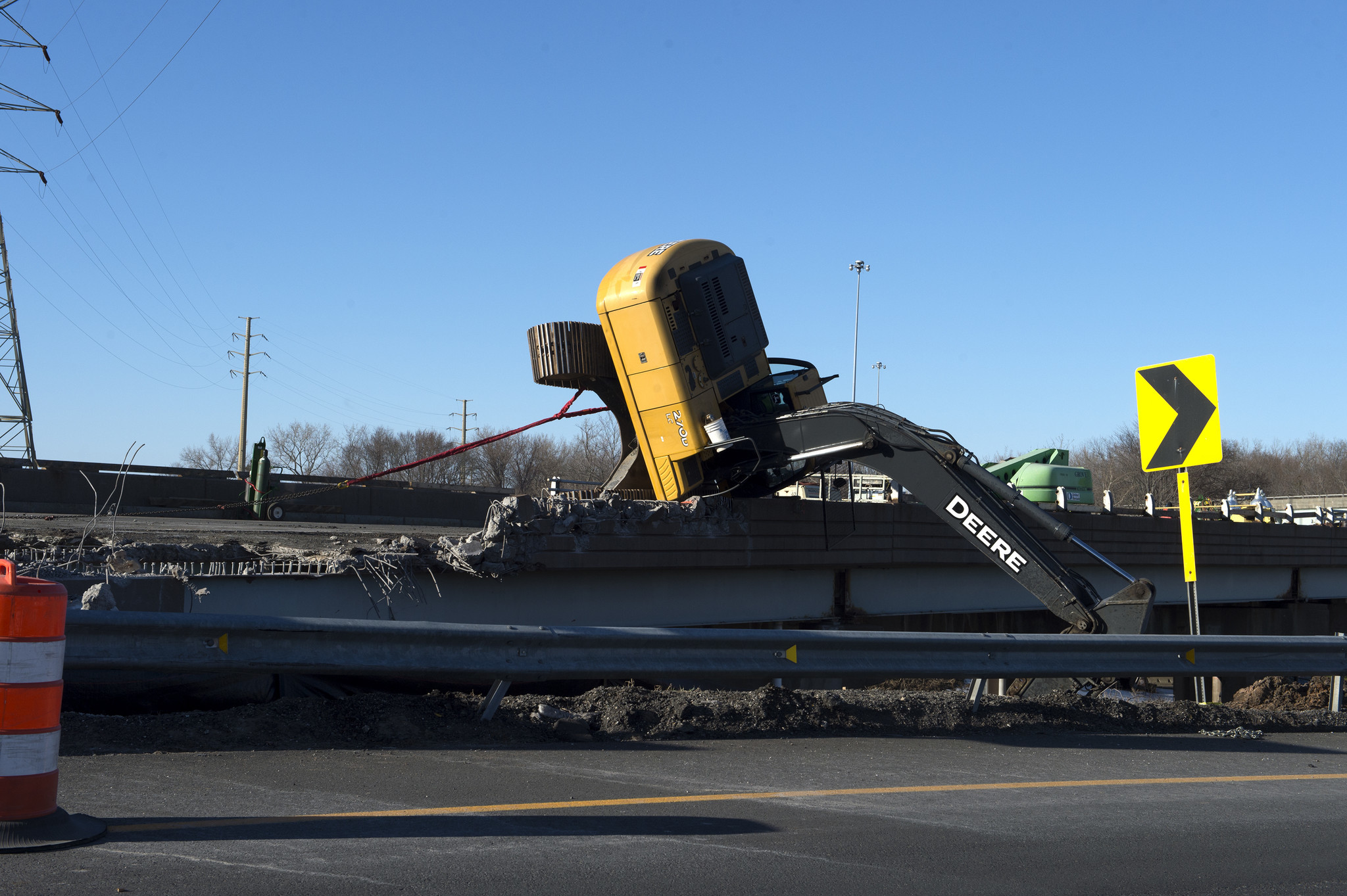 Police ID Operator Killed In Excavator Crash On Route 2 In