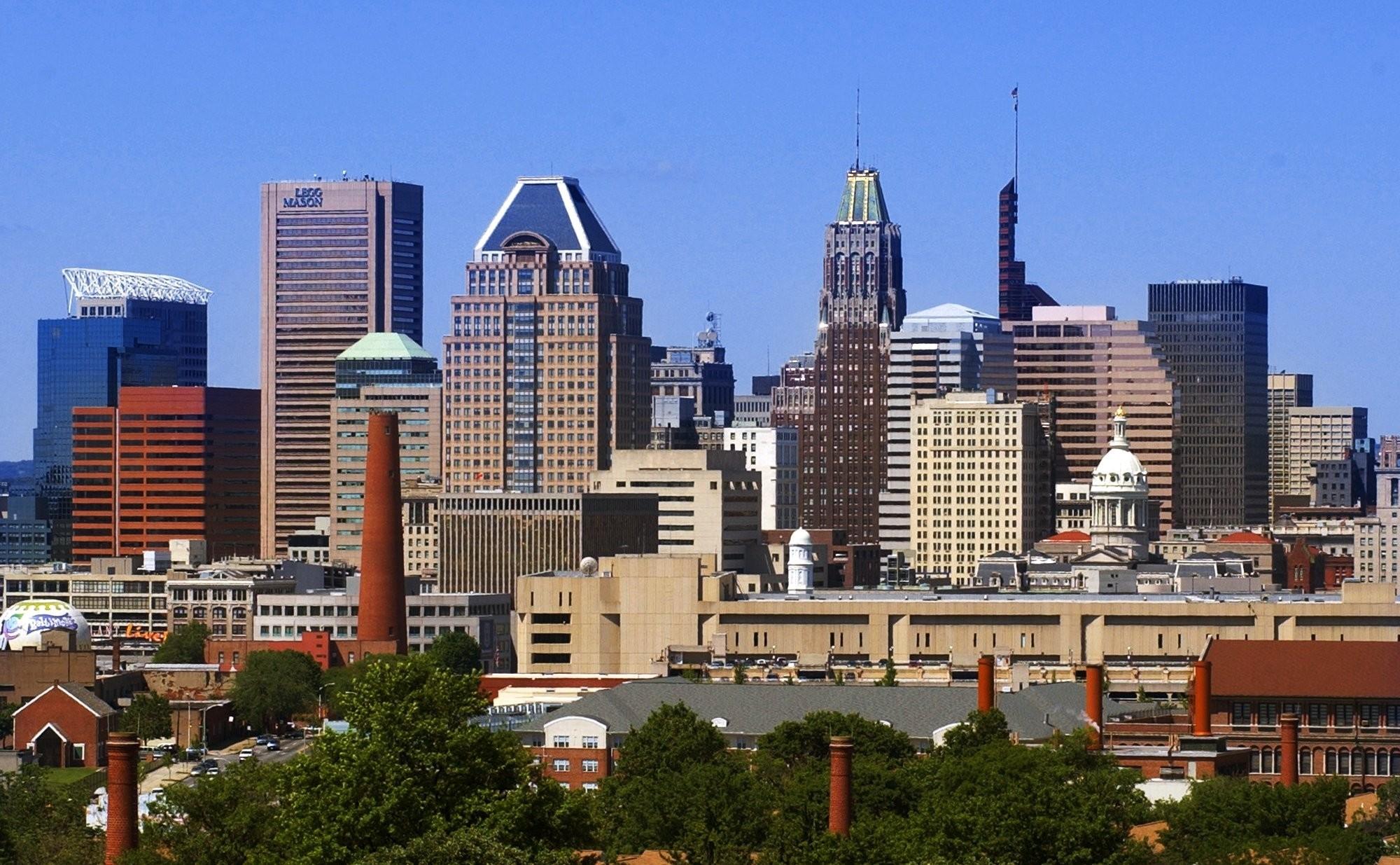 Baltimore Population Falls Nearing A 100 Year Low U S