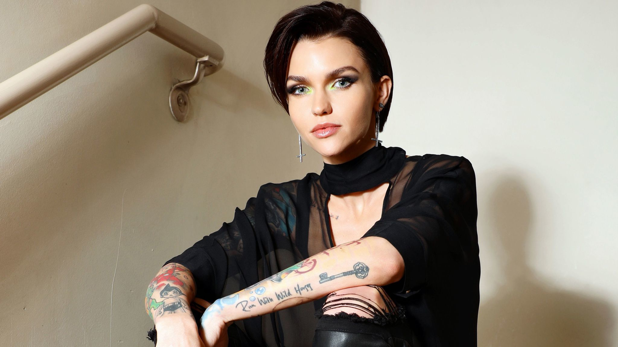 Why Ruby Rose Is 'obsessed' With Jean-Michel Basquiat And