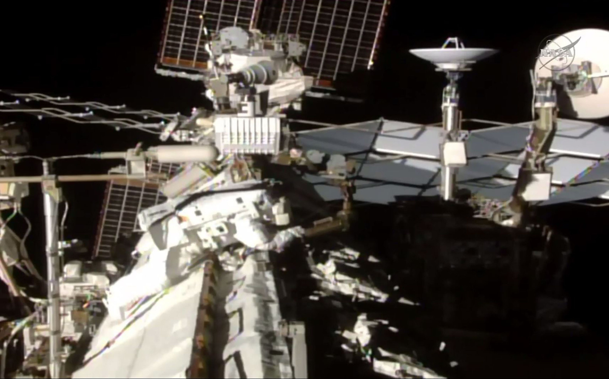Pictures: NASA astronauts work outside of the ...