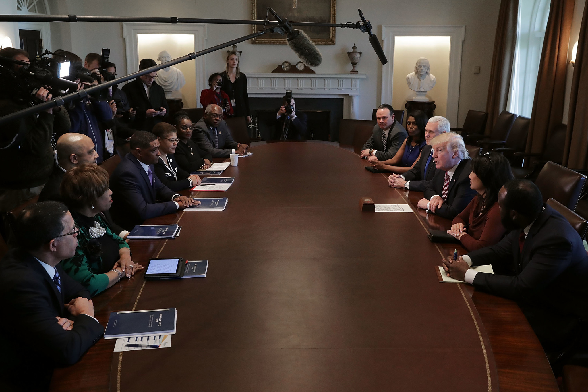 The Wish List The Black Caucus Should Give Trump | Opinion